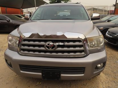 silver 2010 Toyota Sequoia suv / crossover at price ₦5,500,000