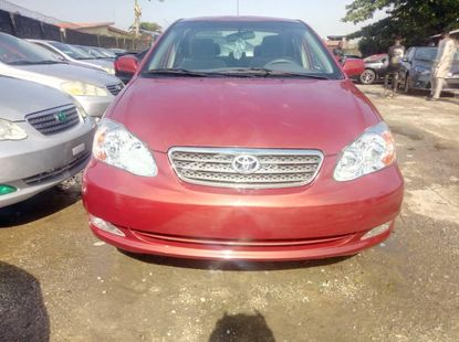 Foreign Used Toyota Corolla 2006 Model