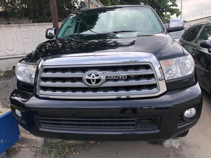 Foreign Used Toyota Sequioa 2013 Limited Edition