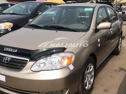 Foreign used 2005 Toyota corolla