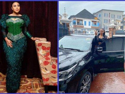Mimi Orjiekwe hangs out with new Lexus SUV on 33rd birthday