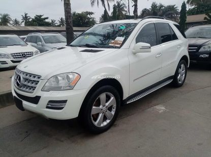 Very sharp foreign used 2010 Mercedes Benz Ml350