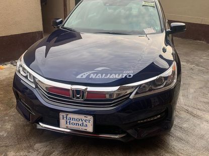 TOKUNBO 2017 HONDA ACCORD EXL