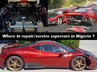 Where do rich Nigerians repair/service their expensive exotic and supercars?