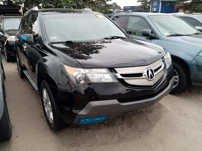 Accident free foreign used 2008 Acura mdx