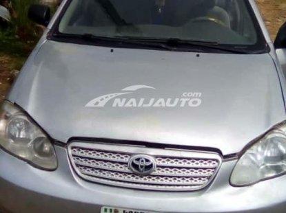 Slightly Nigerian used 2005 Toyota Corolla