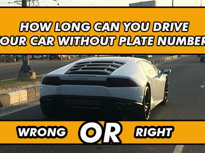 You can drive a new car in Nigeria without plate numbers but you must know these...