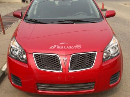 Red Pontiac vibe for sale
