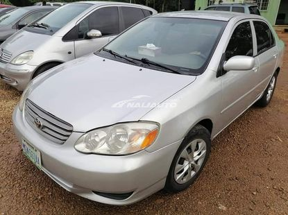Clean Registered 2003 Toyota corolla for sale