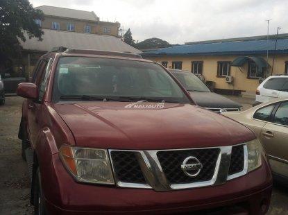 Nigerian Used Nissan Pathfinder 2006 Model