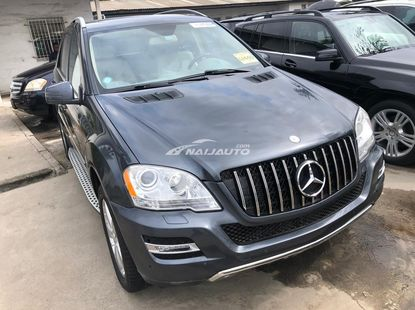 Foreign Used Mercedes Benz ML350 2010 Model