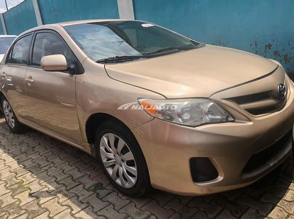 Foreign used Toyota Corolla 2012
