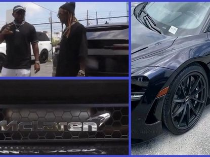 Lil Wayne blessed with new birthday gifted 2020 McLaren 720s