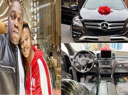 Sex therapist Angela Nwosu surprises hubby with 2017 Mercedes-Benz GLE 350