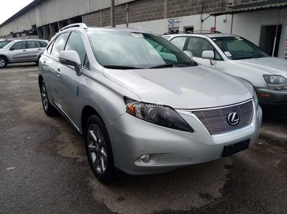 Foreign used 2012 lexus rx350