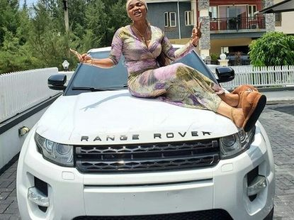 Actress Iyabo Ojo gifted Range Rover Evoque by goddaughter