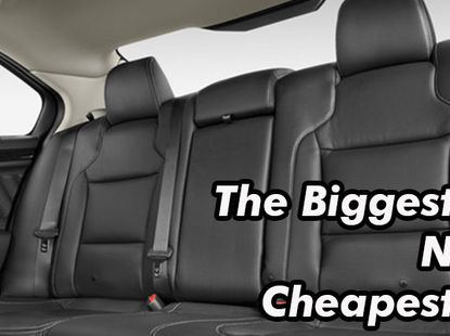 7 affordable cars with large interior space apart from the common Camry, Accord and ES350