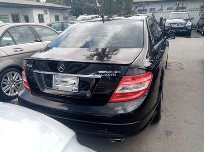 Foreign used 2008 Mercedes benz C350