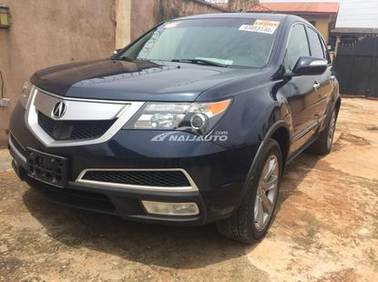 Foreign Used 2012 Acura MDX With Reverse Camera,Navigation And Power Boot