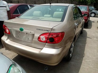 Foreign used 2008 toyota corolla