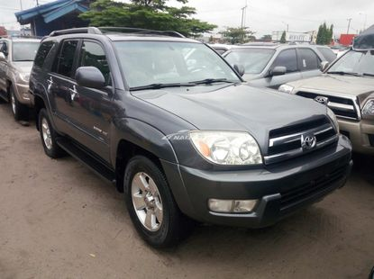 Foreign used 2005 Toyota 4runner