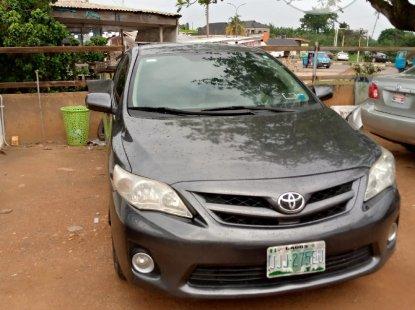 Toyota Corolla 2011 ₦2,600,000 for sale