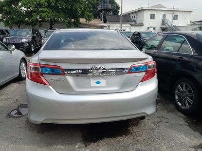 Foreign used 2013 Toyota camry xle