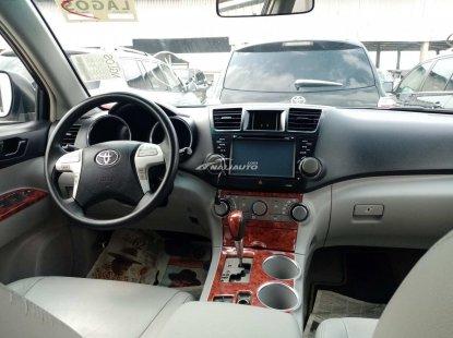 Foreign used 2010 Toyota highlander