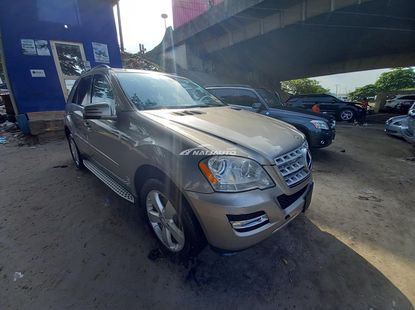 Accident free foreign used 2010 Mercedes benz ml350