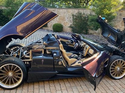 Teen Youtuber wrecks billionaire dad's one-off Pagani Huayra Roadster worth ₦1.29 billion