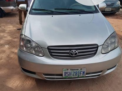 Toyota Corolla 2004 ₦1,450,000 for sale