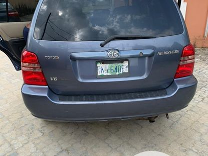 2004 Toyota Highlander for sale in Lagos