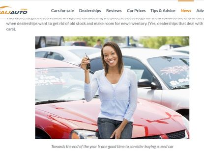 What to look out for when you buy a car online or offline