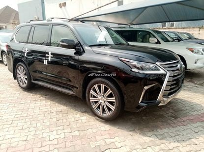Foreign used 2017 lexus lx570
