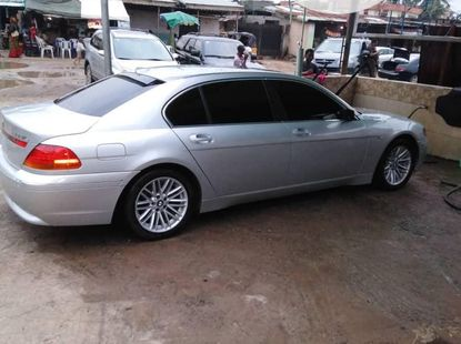 BMW 7 Series 2002 ₦4,100,000 for sale