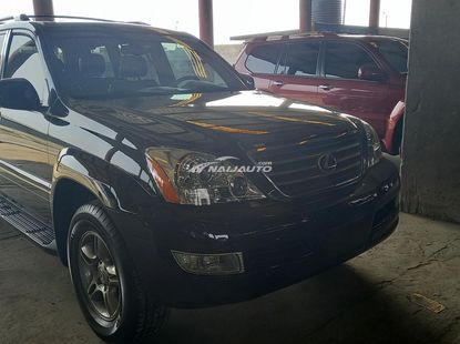 Foreign used 2008 lexus gx470
