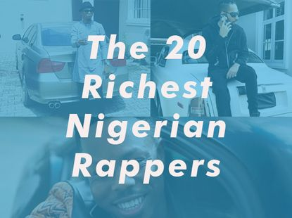 Top 20 richest rappers in Nigeria and their cars; 9 and 18 will blow your mind!