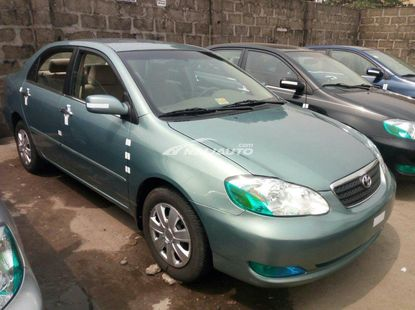 Foreign used 2006 Toyota corolla le