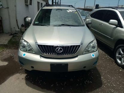 Foreign used 2008 lexus rx350