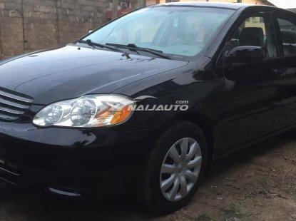 2004 Toyota Corolla LE, Black