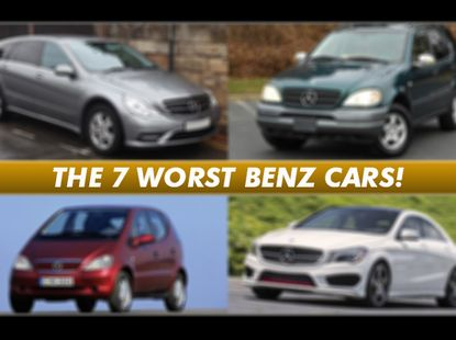 The 7 Mercedes-Benz worst cars you should not buy in Nigeria