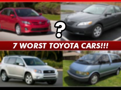 These are the 7 worst Toyota cars you can buy in Nigeria; Toyota is not perfect