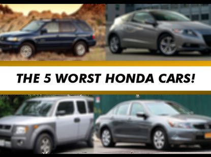 7 worst Honda cars sold in Nigeria; this is more than ball joint problems