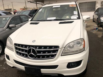 Foreign Used Mercedes Benz ML350 2007 Model