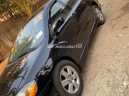 Foreign Used Toyota Corolla Sport Edition 2007 Model