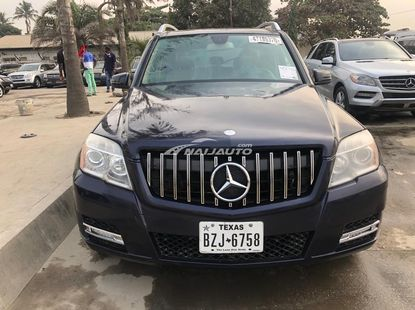 Foreign Used Mercedes Benz GLK350 2010 Model