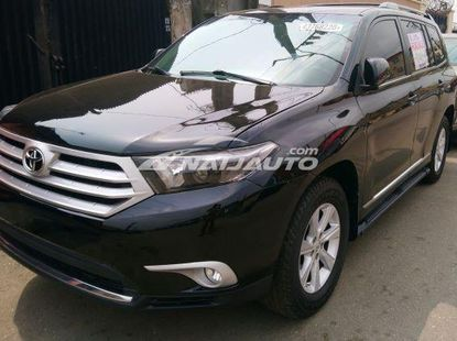 TOYOTA HIGHLANDER 4WD 2011, Rear View camera, Leather interior, factory fitted A/C, Tin-Can cleared