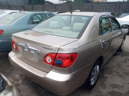 Toyota Corolla ce 2006 model foreign used