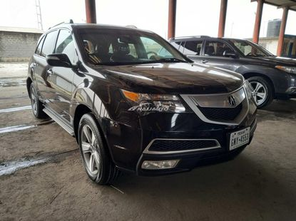 Foreign used 2012 acura mdx