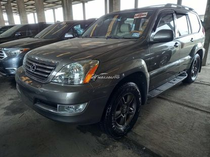 Foreign used 2007 lexus gx470